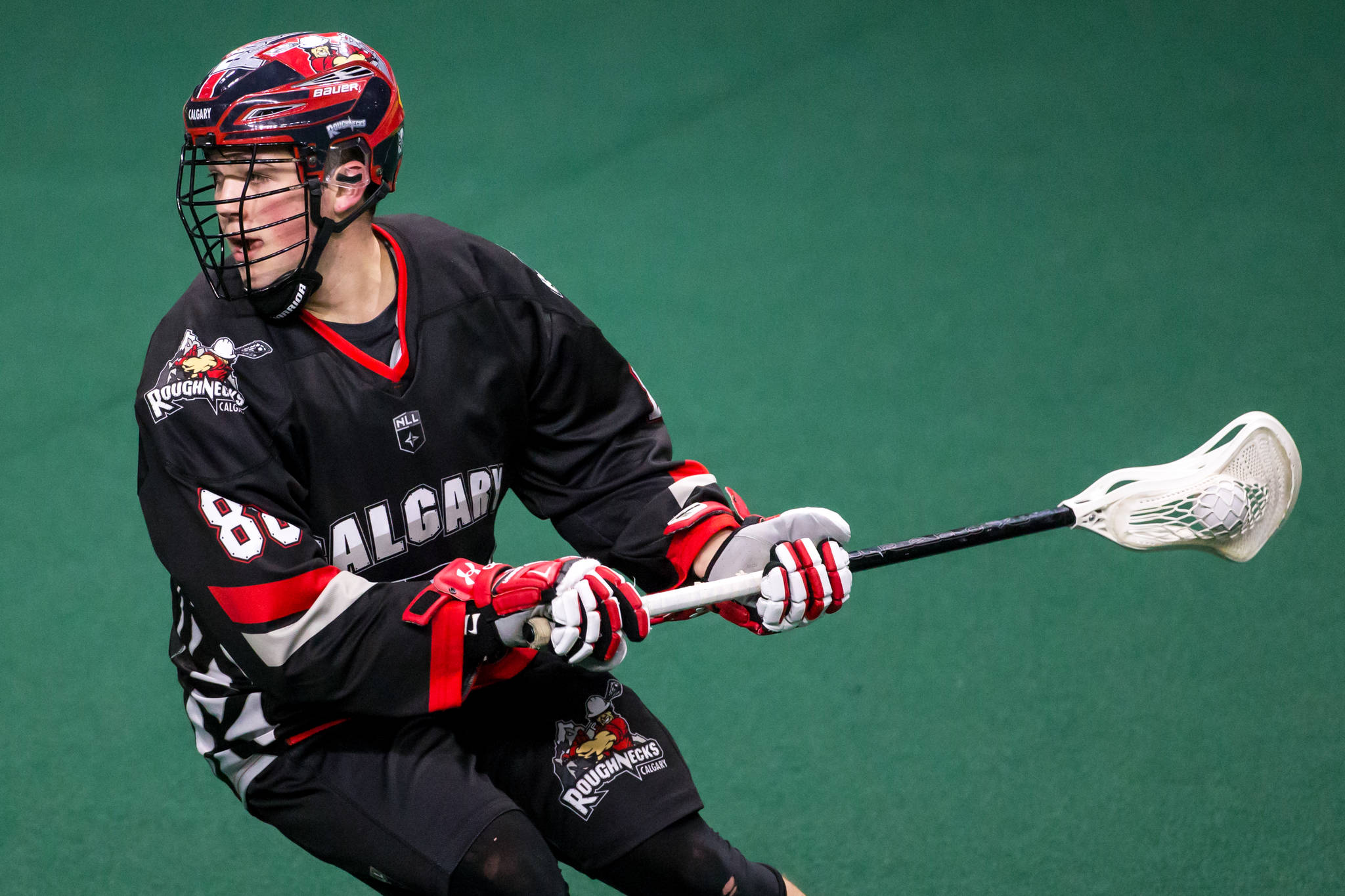 In four games this season, Aldergrove's Ryan Martel has three goals and five points in four NLL games.                                 Garrett James Langley Events Centre photo