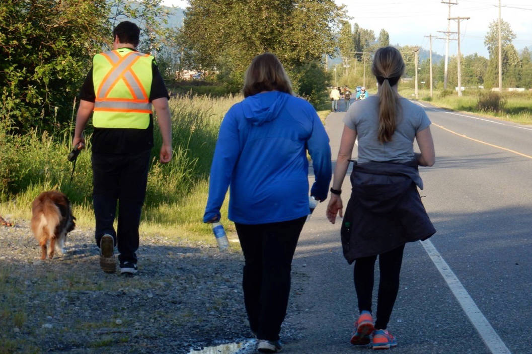 The third annual Walk in the Spirit of Reconciliation begins in Fort Langley on May 25. Photo courtesy of the 'Working Toward Reconciliation' Facebook page