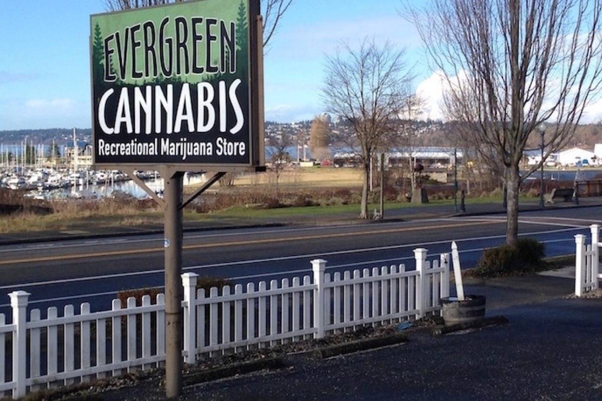 Marijuana retail store in Blaine, Wa., just across the B.C. border. (Black Press files)