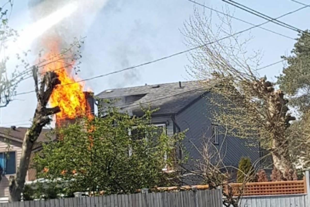 House fire in Aldergrove