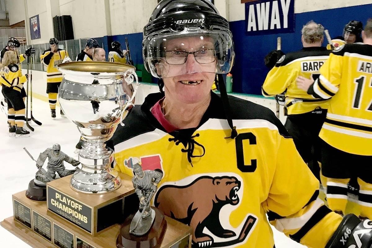 Still skating (and scoring goals) at 73 years old