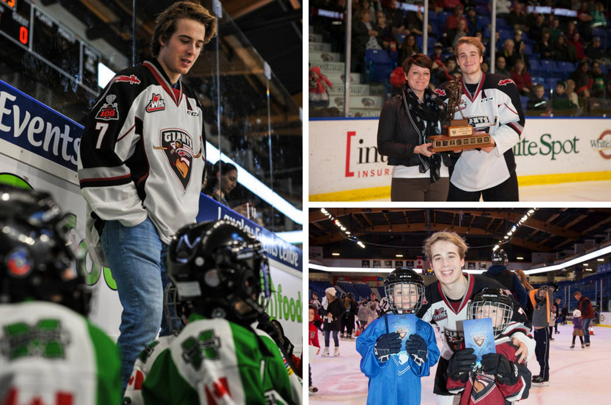 Giants' Ronning wins WHL's humanitarian award