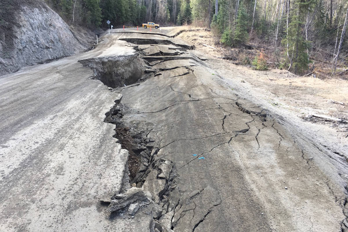 PHOTOS: Flood damage extensive in B.C. Interior