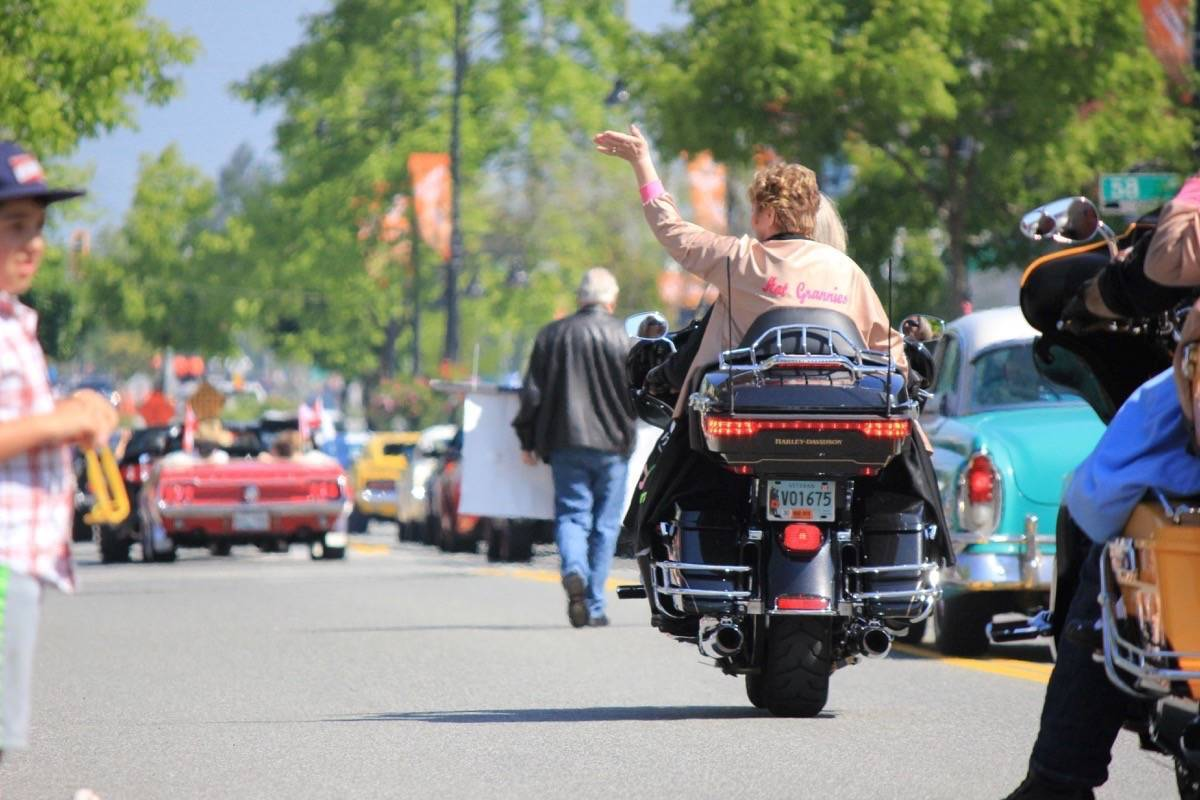 The 'Hot Grannies' were a crowd favourite at last year's Cloverdale Rodeo Parade. (Samantha Anderson)