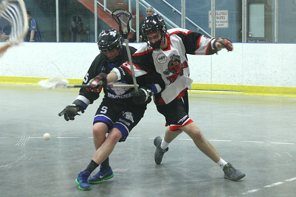 Langley Junior Thunder rally for season-opening victory