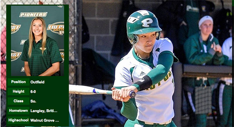 Langley's Fortin wins conference player of the year