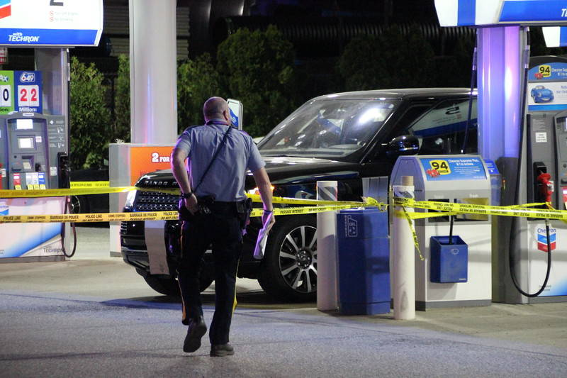 VIDEO: Man shot and killed outside Langley gas station