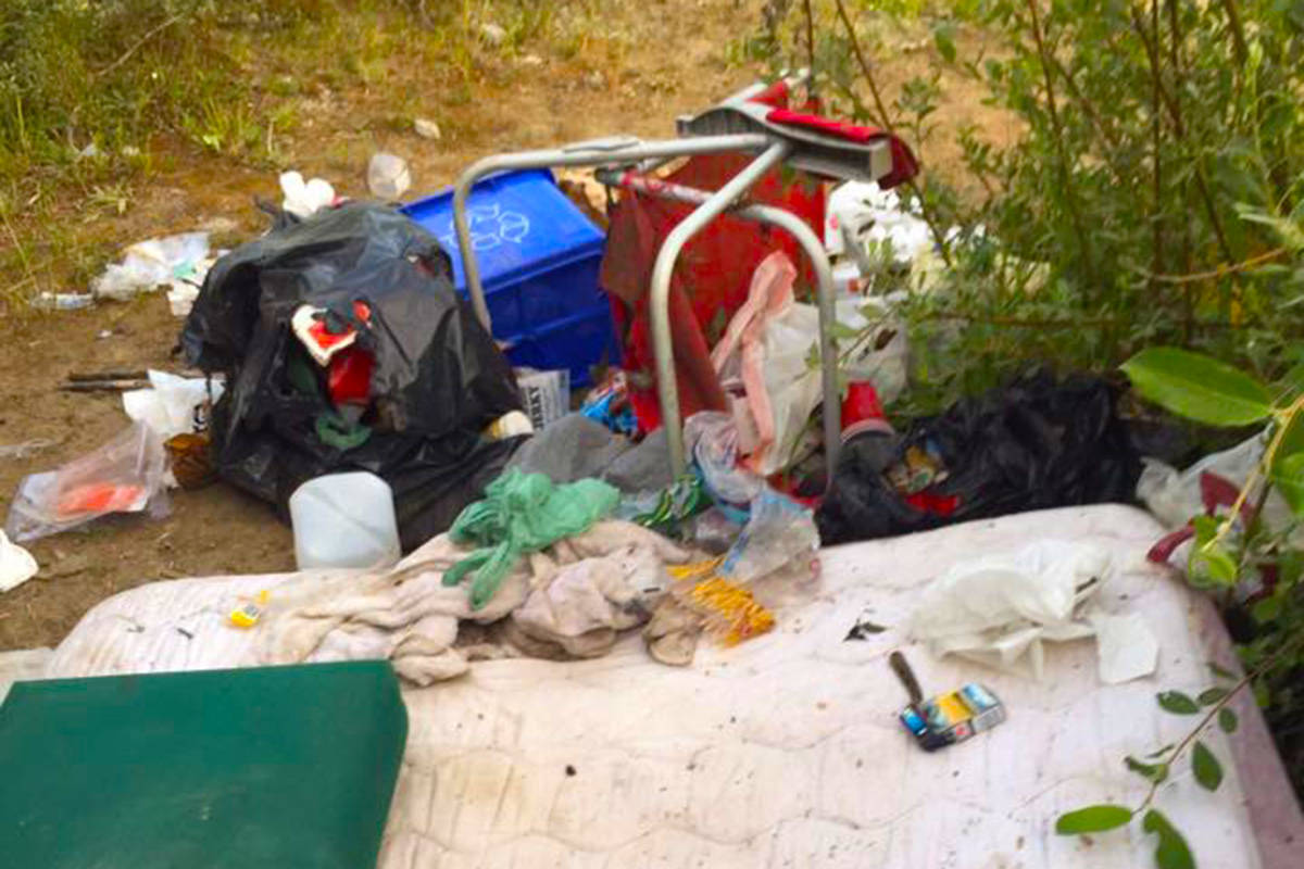 VIDEO: Campers leave big mess at rural Vancouver Island campsite