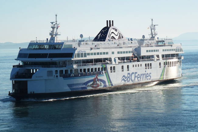 Ferry passengers bound to Duke Point ferry terminal, from Tsawwassen, will be compensated after a cancellation May 22 when the ship's second officer became ill. (Black Press file)
