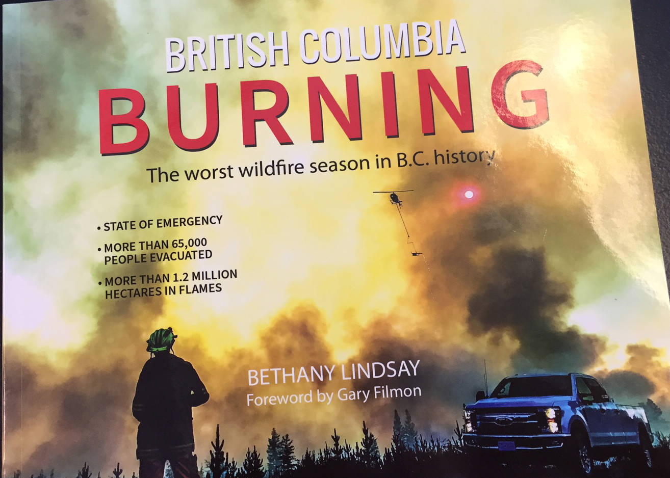 New book looks back at worst wildfire season in B.C. history.