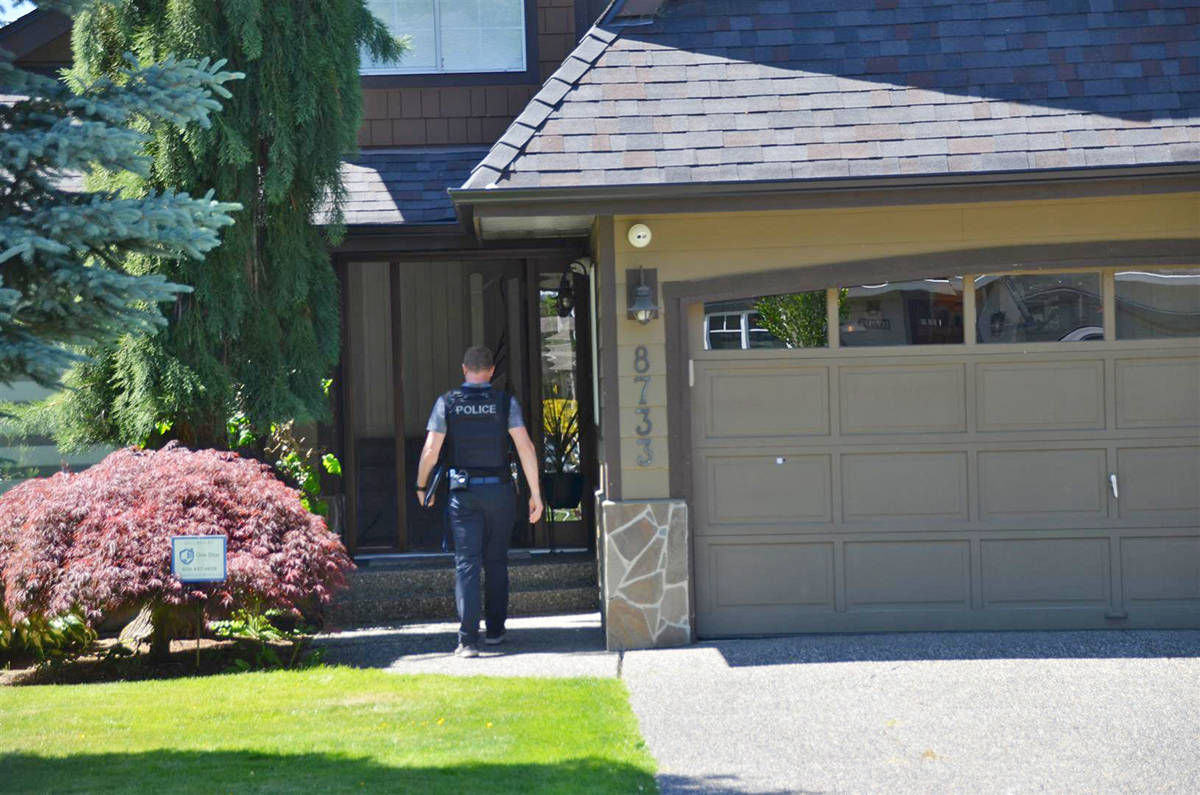 VIDEO: Shooting incident in Langley Township