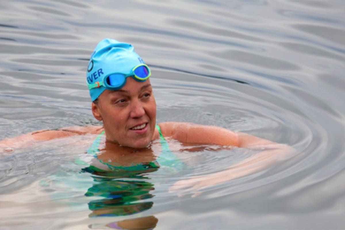 Island woman plans two massive swims this summer