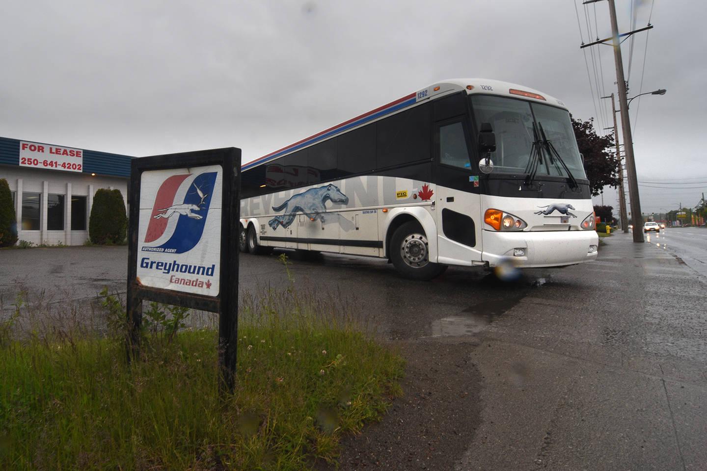Last Greyhound bus leaves B C 's Highway of Tears – Langley
