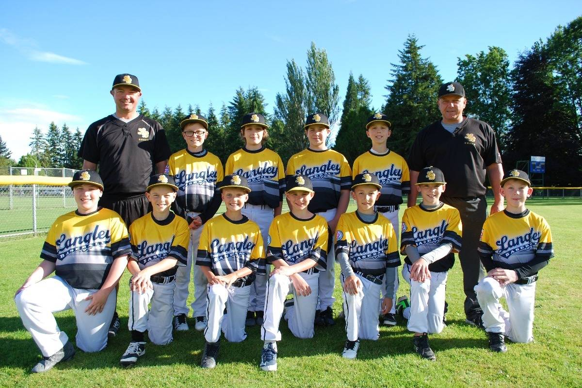 Langley Baseball Association all-stars head for Cal Ripken world