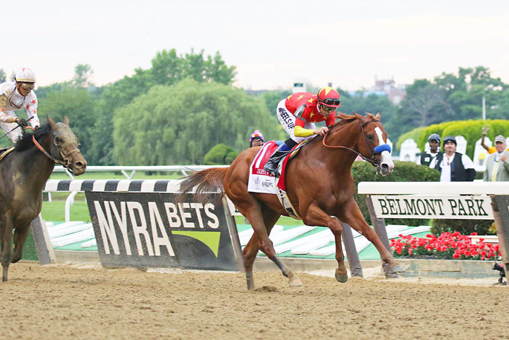 "The Triple Crown win by ""Justify"" was a dream come true for Langley breeder John Gunther. Mike Lizzi photo under Creative Commons licence"