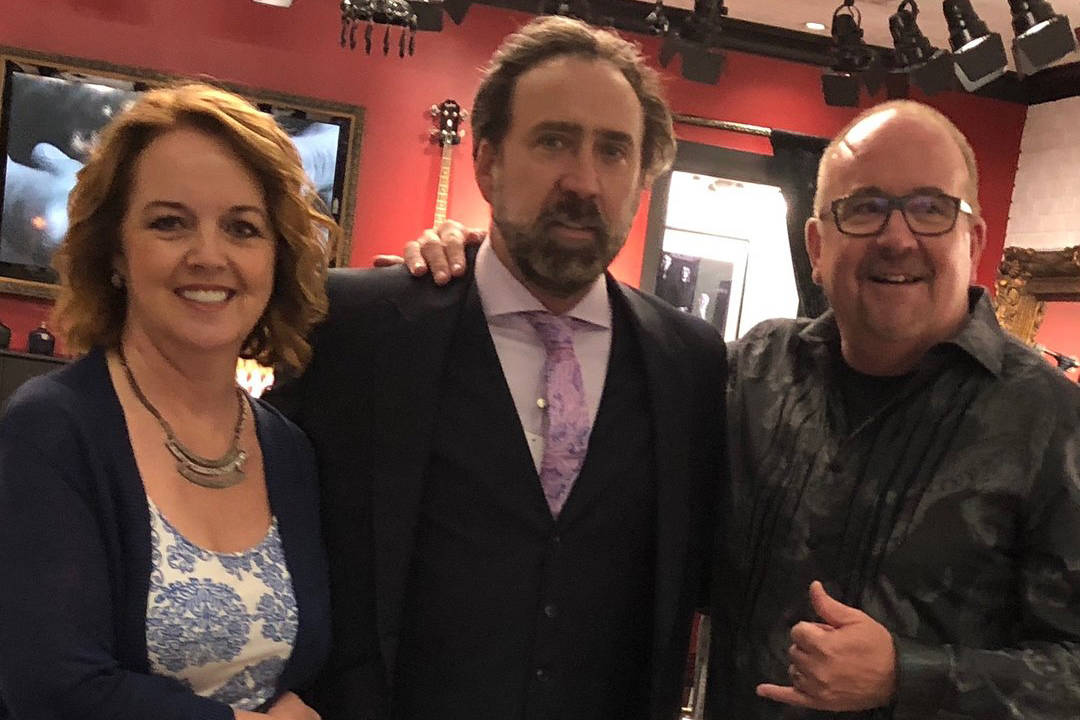 B.C. business suits up Nicolas Cage