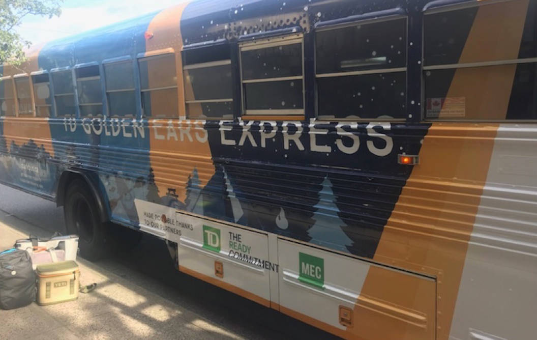 Golden Ears Express is a free but service running from Vancouver to Golden Ears Park in Maple Ridge. (Contributed)