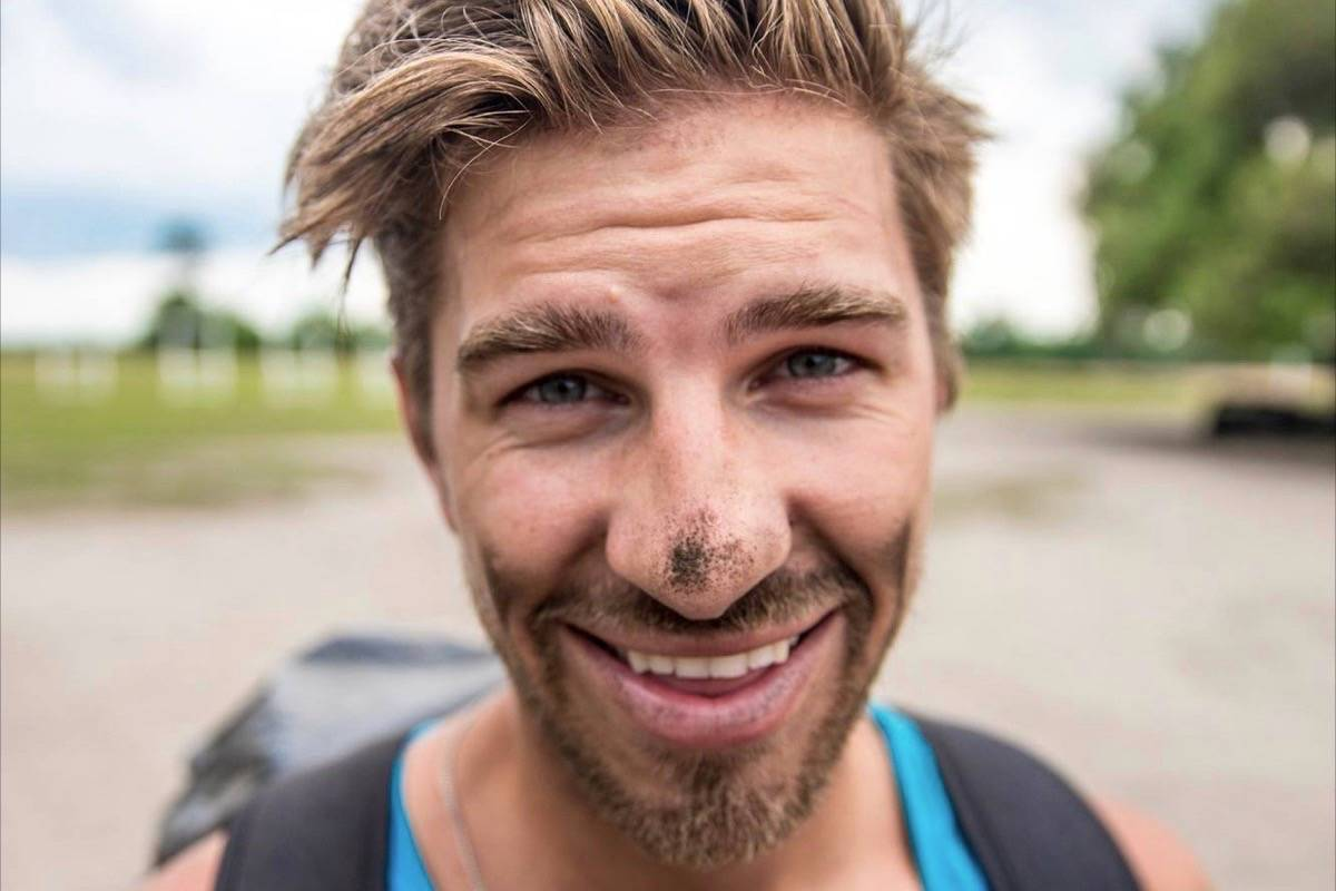 Ryker Gamble was one of three travel vloggers who died at Shannon Falls on July 2. (Facebook)