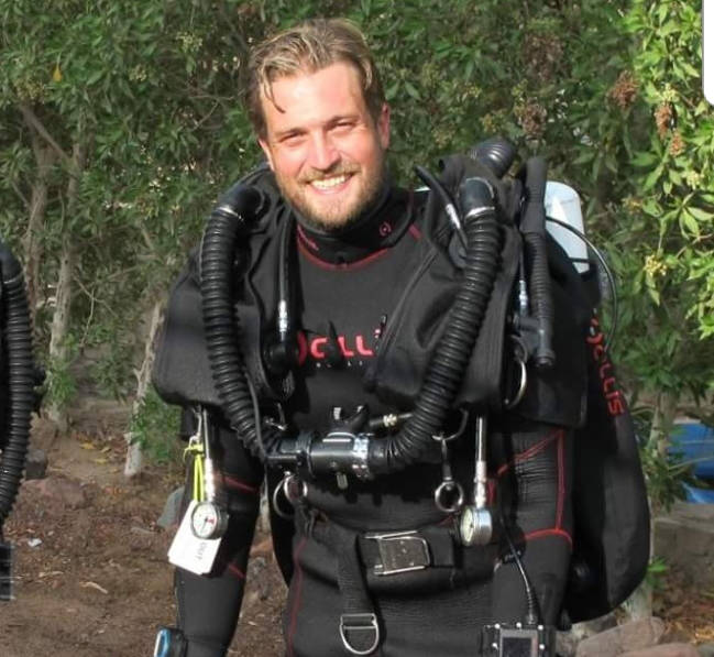 D.W. Poppy grad Erik Brown was part of a team of volunteer divers who rescued 13 people from a cave in Thailand. His brother, Kirk, says it comes as no surprise to anyone who knows Erik that he would step up and volunteer.                                Photo courtesy Kirk Brown
