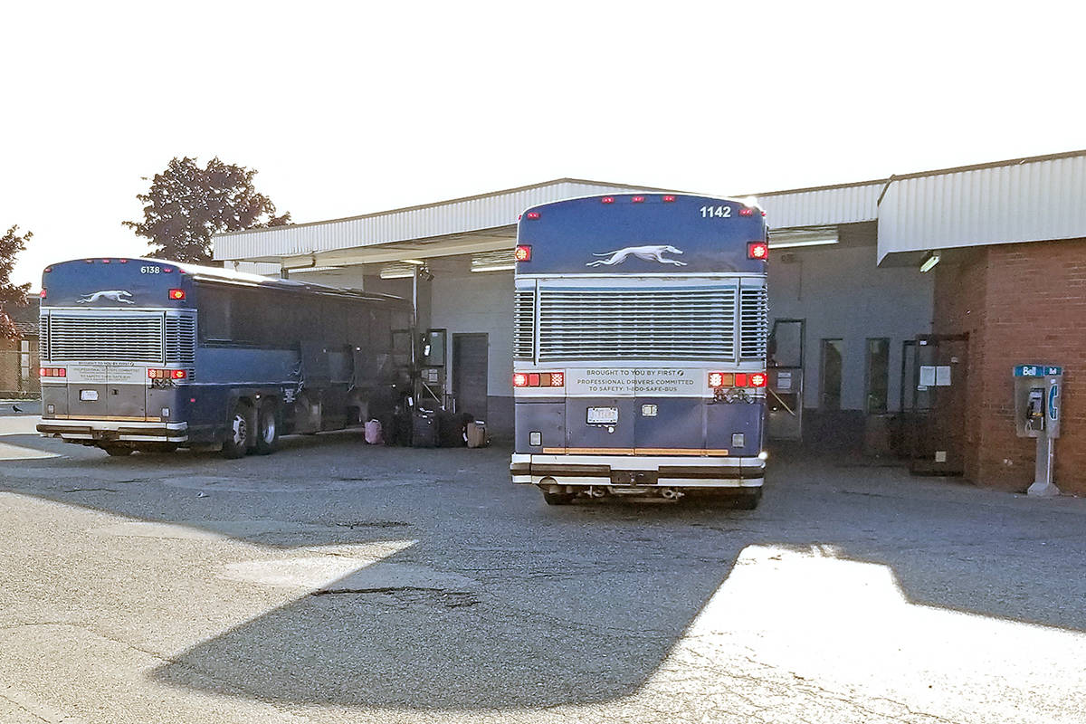 Greyhound bus depot in Langley will close as part of Canada