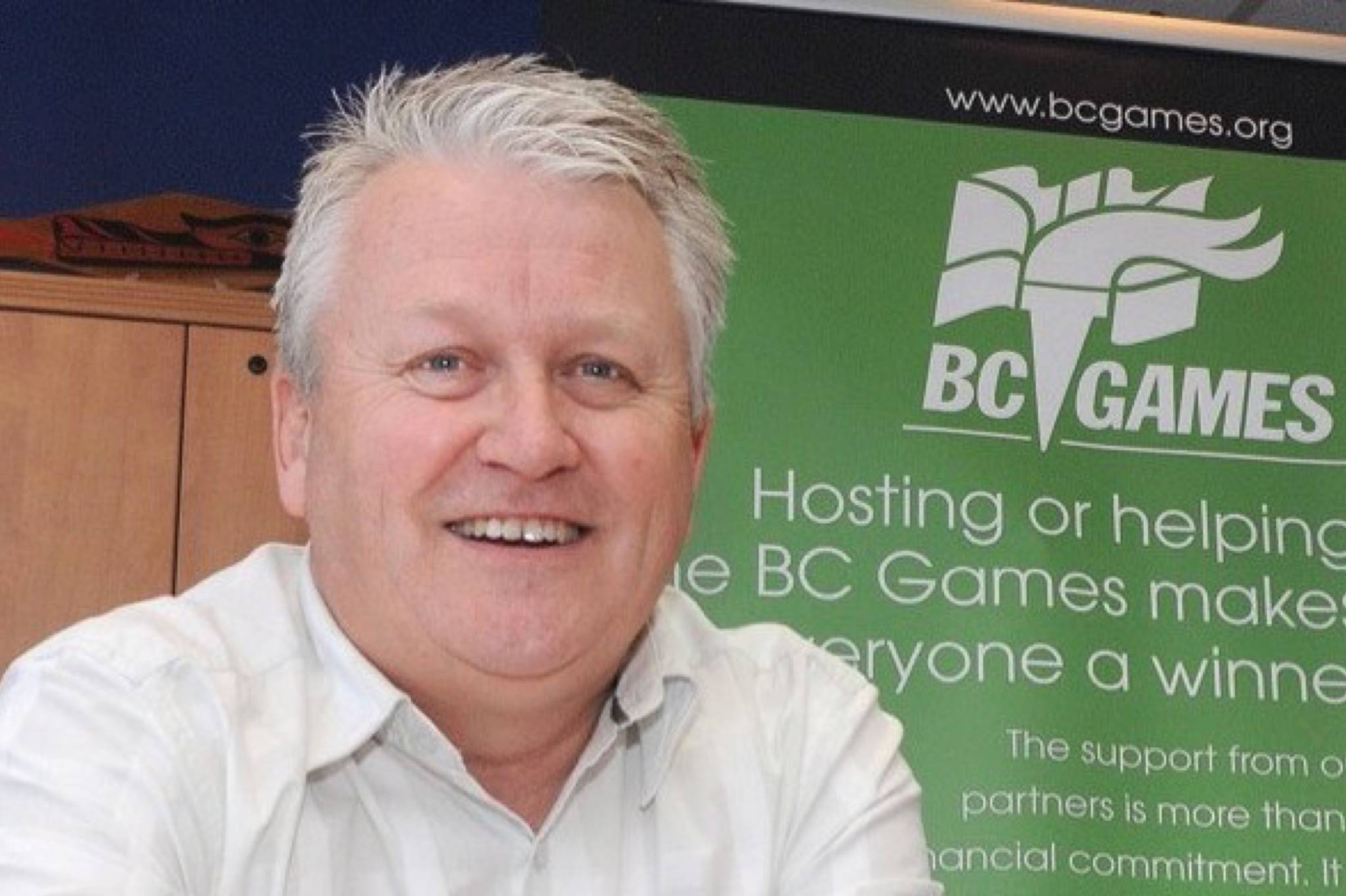 Kelly Mann, president and CEO of the BC Games Society. (Black Press photo)