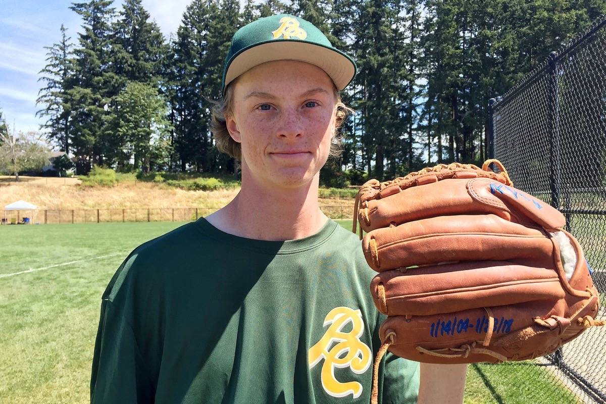 Tsawwassen's Nate Rosser is playing at the BC Summer Games in memory of his best friend, Kyle Losse. (Kevin Rothbauer/Black Press)