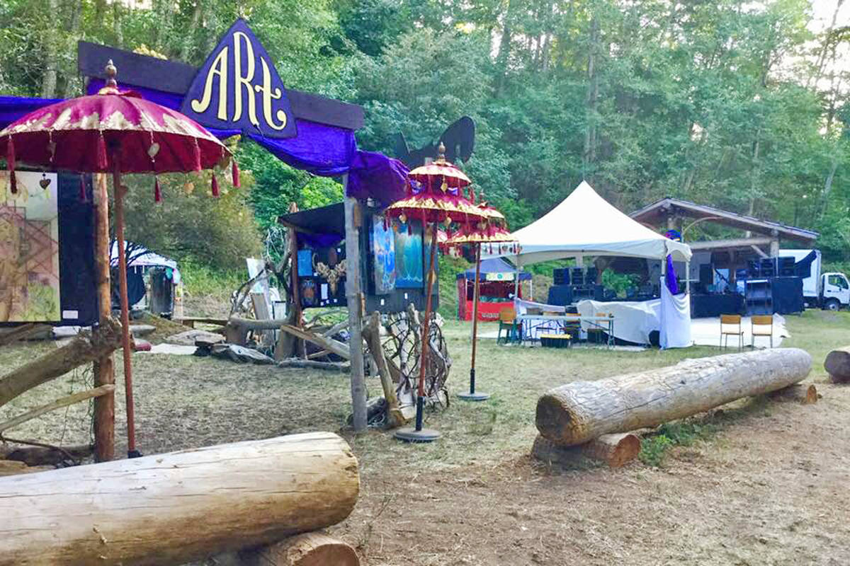 A Prince Rupert woman was declared dead on Shingle Beach during the 2018 Diversity Festival on Texada Island. (Diversity Festival / Facebook)
