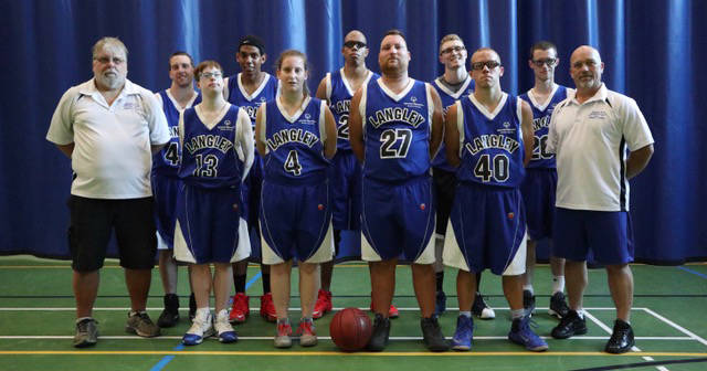 BC Warriors basketball team is competing at the 2018 Special Olympics in Antigonish, NS, from July 31 to Aug. 4. A number of Langley athletes will take part in the games, competing in basketball, swimming, bocce, athletics and golf.                                submitted photo