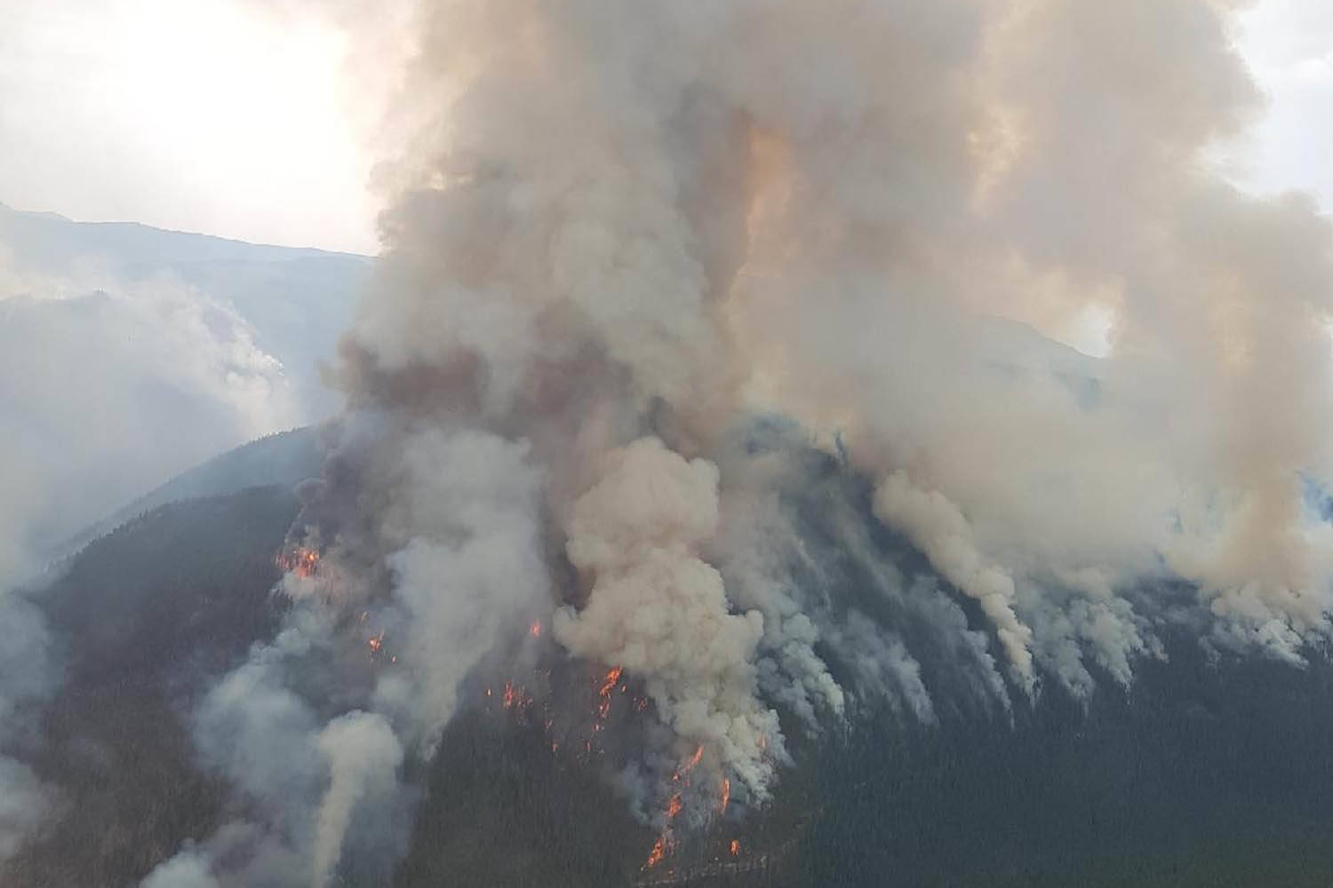 UPDATE: Placer Mountain fire in Similkameen Valley grows to 2,336 hectares