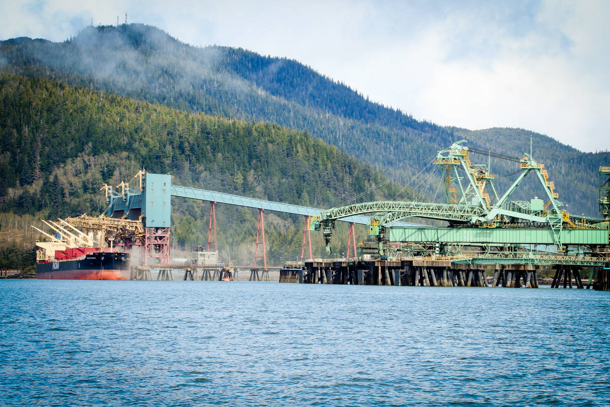 Ridley Terminals Inc. in Prince Rupert, B.C., is up for sale in the fall. (Shannon Lough / The Northern View)