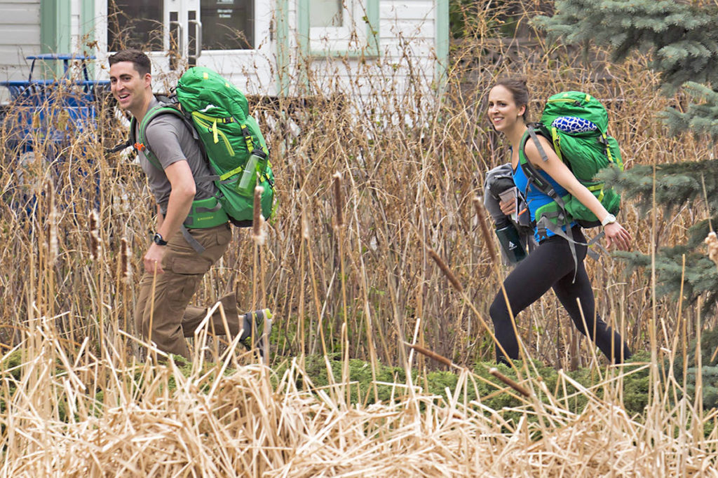 Langley RCMP officer Courtney Callens and her brother Taylor, an RCMP officer from Williams Lake, have been dominating the The Amazing Race Canada: Heroes Edition. Photo courtesy CTV