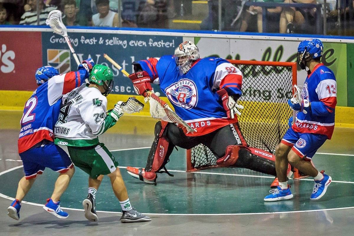 Frank Sciliano was the first star of the game in the fifth and deciding game on Saturday night on Vancouver Island. (Contributed)
