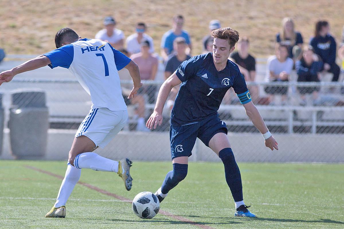 TWU Spartans men's soccer team fights UBC Okanagan to a draw