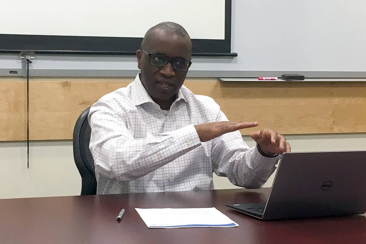 Former City of Nanaimo chief financial officer Victor Mema has filed a complaint with the B.C. Human Rights Tribunal against the city. (News Bulletin file)