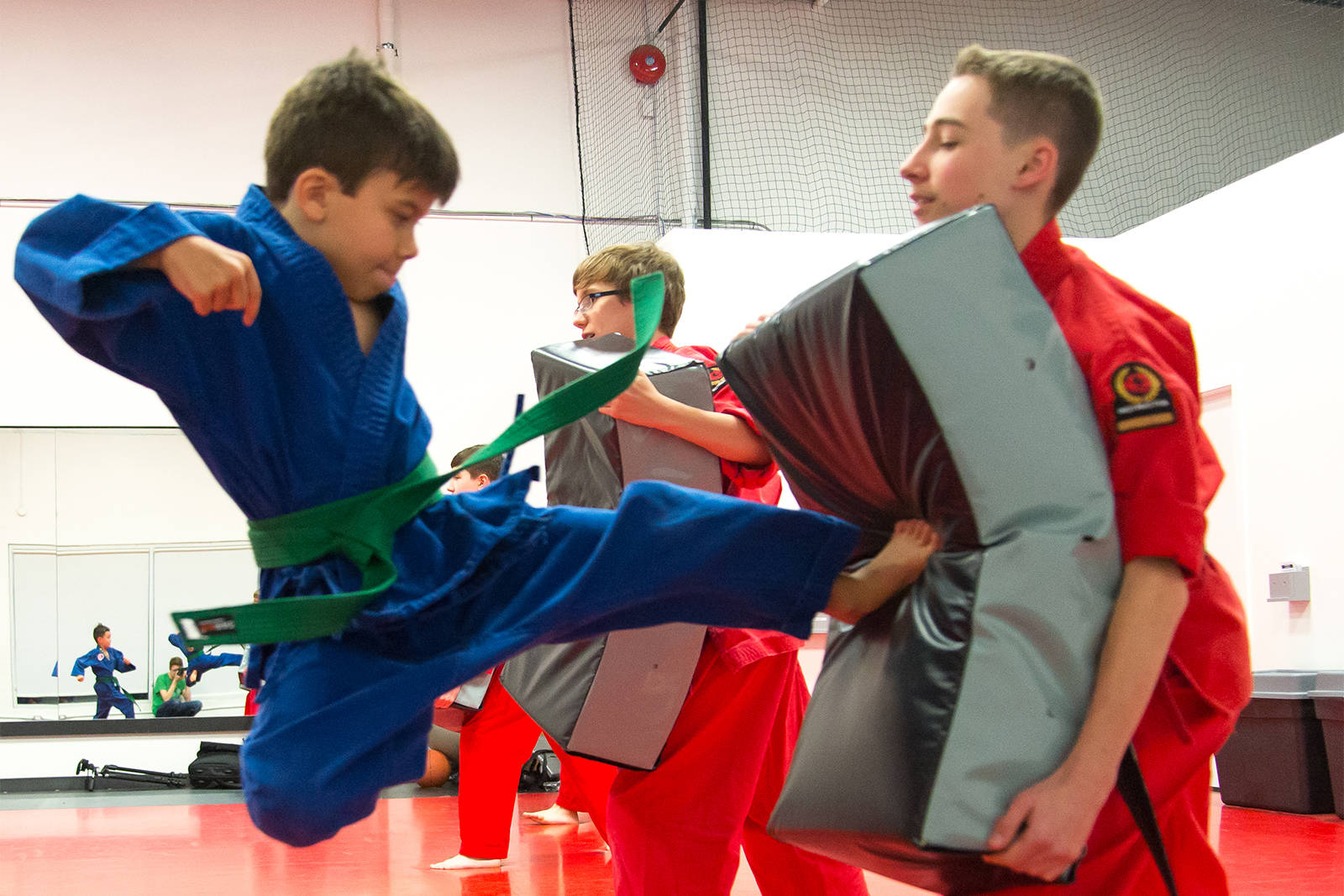 Respect, Grace and Perseverance: Life lessons learned at the Dojo