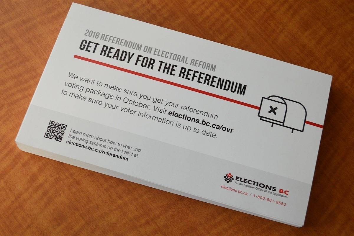 Notification cards are in the mail this month. (Elections BC)