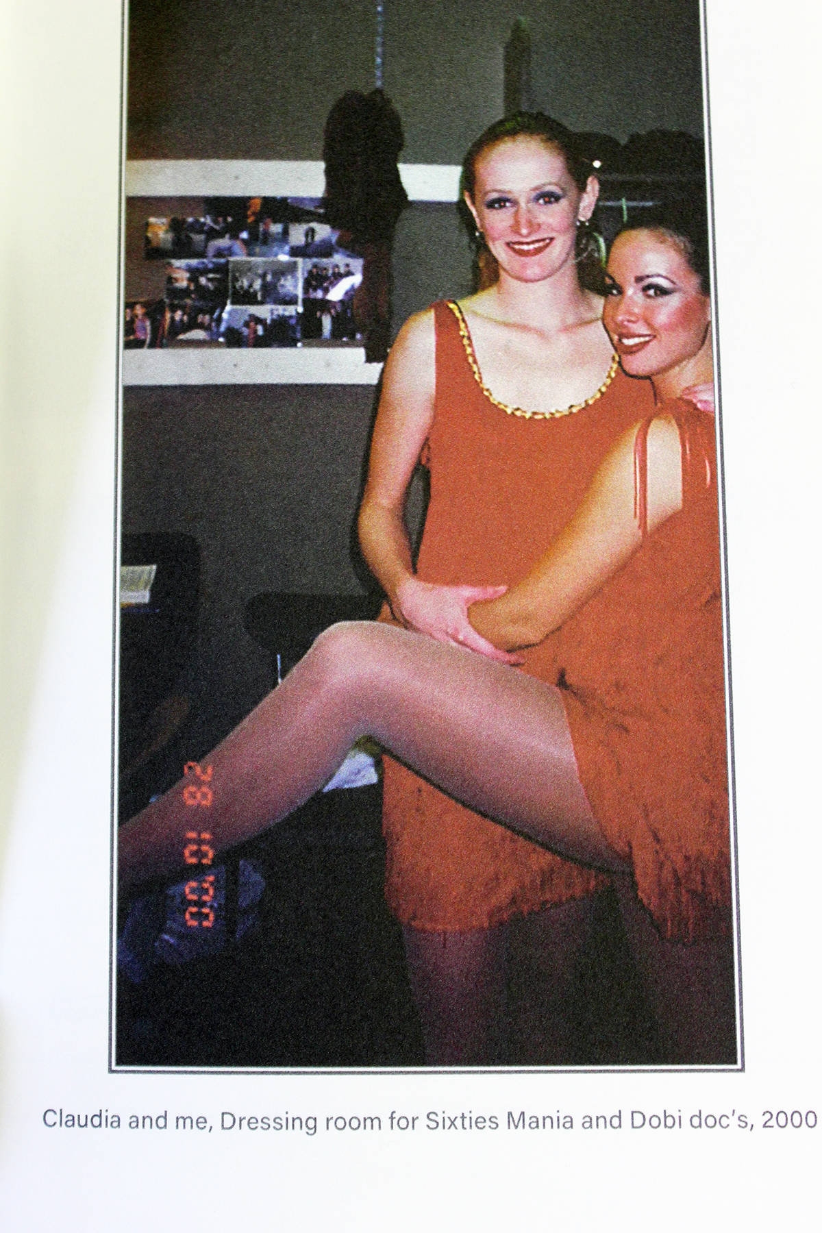 Heather Williams was a prolific dancer with Sixties Mania and other shows in 2000. (Photo by Don Bodger from Little Feet)