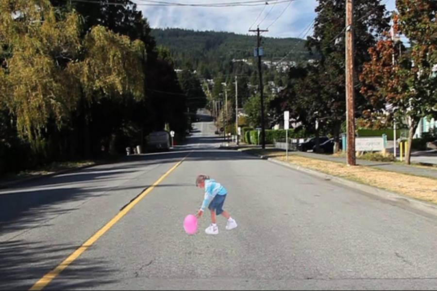 Watch out for Pavement Patty: Drivers warned outside B.C. elementary school