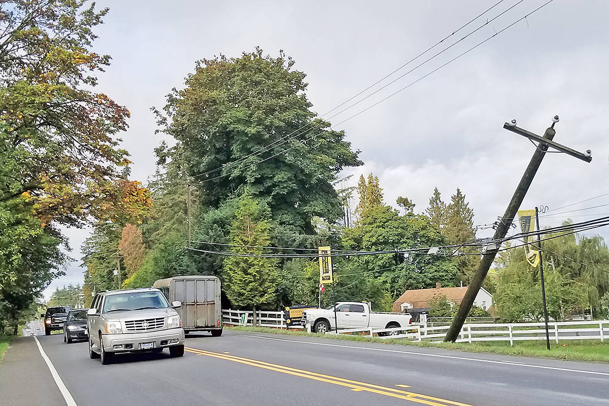 VIDEO: Multiple power outages in Langley – Langley Advance Times