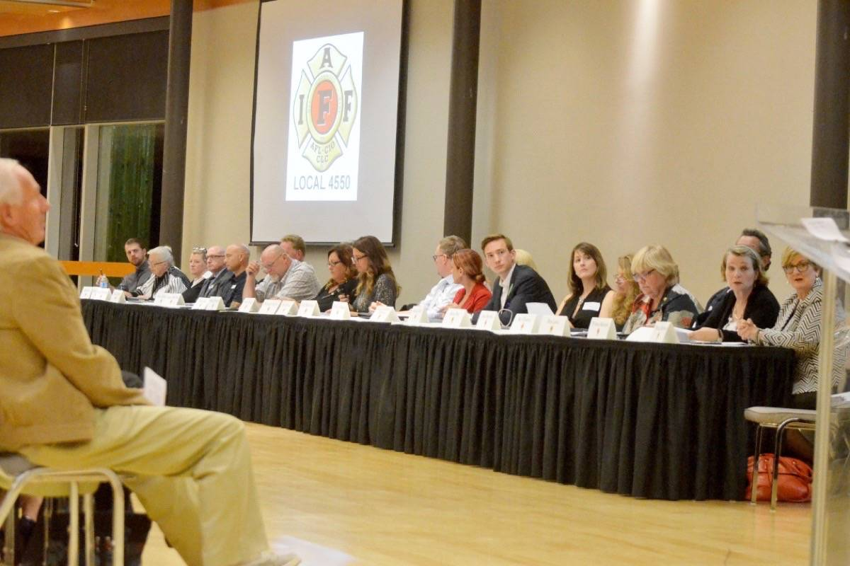 Langley Township candidates tackle questions on firefighting issues