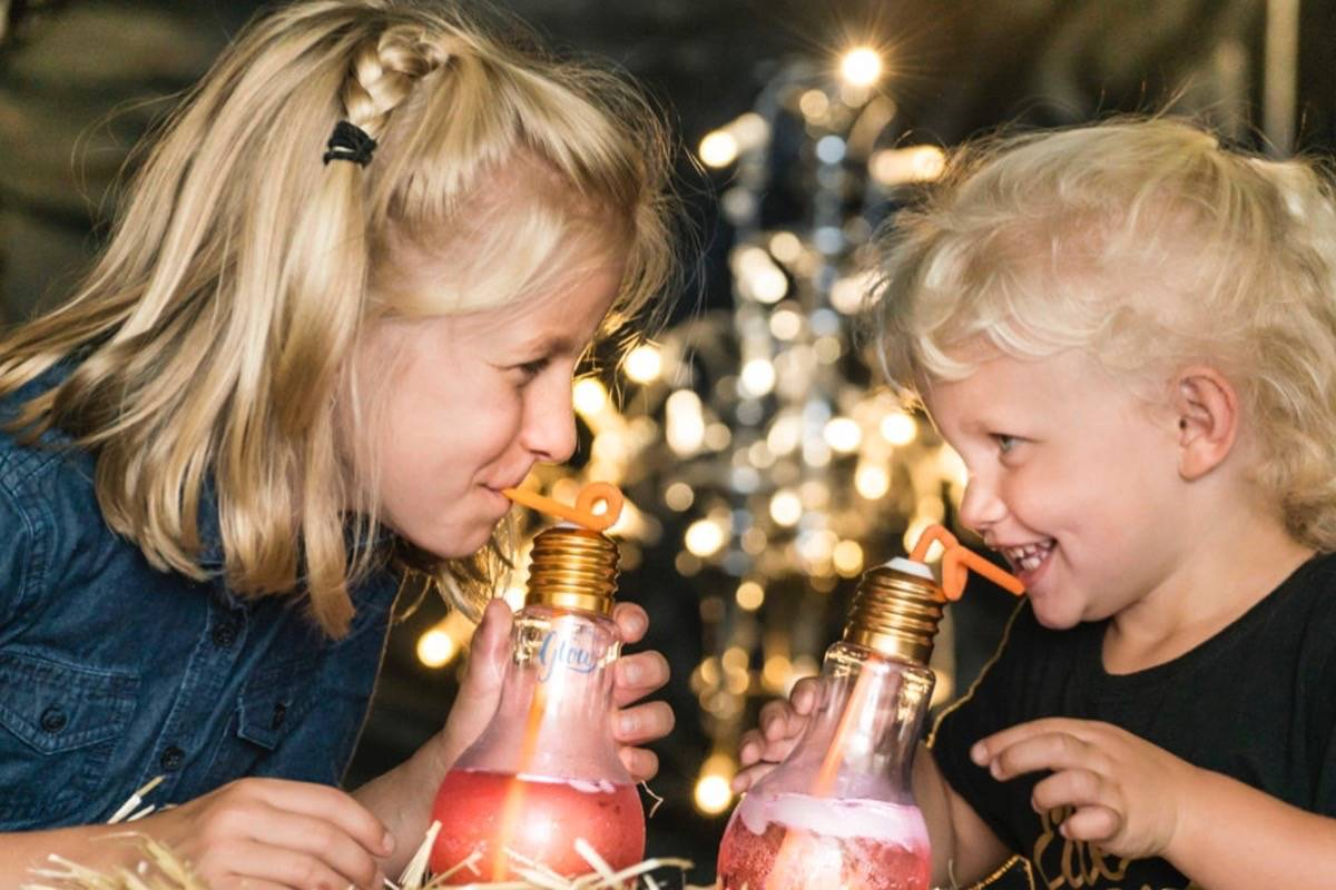 Harvest Glow has kid-friendly activities like a pumpkin patch, pumpkin carving contest, train ride and playground. Courtesy Harvest Glow