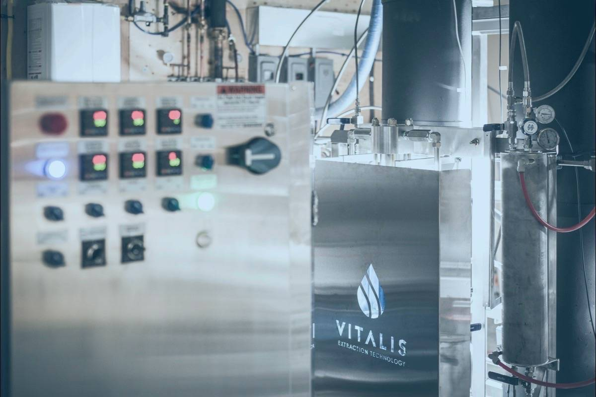 Vitalis Extraction Technology equipment helps generate hash oil byproduct from cannabis. Photo: Contributed