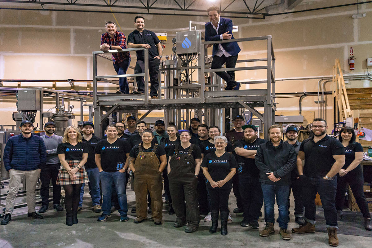 Vitalis Extraction Technology staff. Photo: Contributed