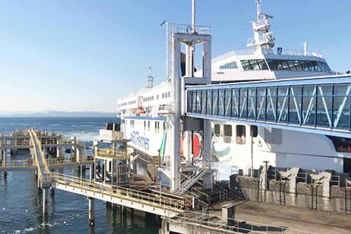 BC Ferries is looking for Canadian shipyards to provide expressions of interest to build five new ships. (BC Ferries photo)
