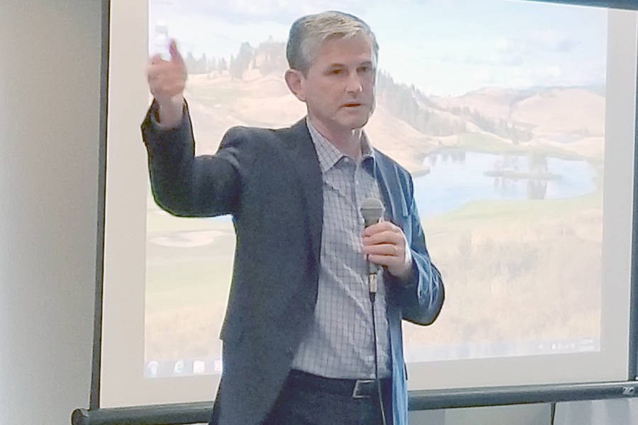 Andrew Wilkinson discusses proportional representation in Okanagan