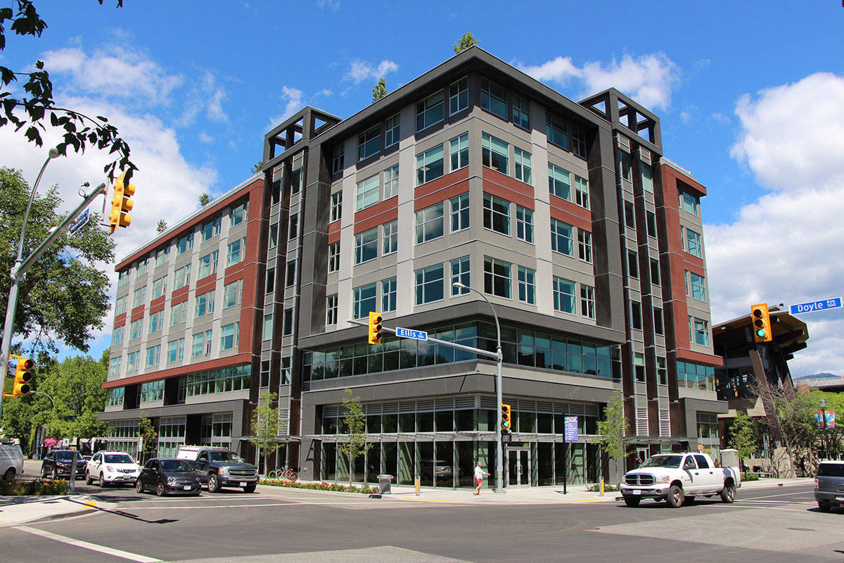 Okanagan Innovation Centre in downtown Kelowna. —Image: Contributed