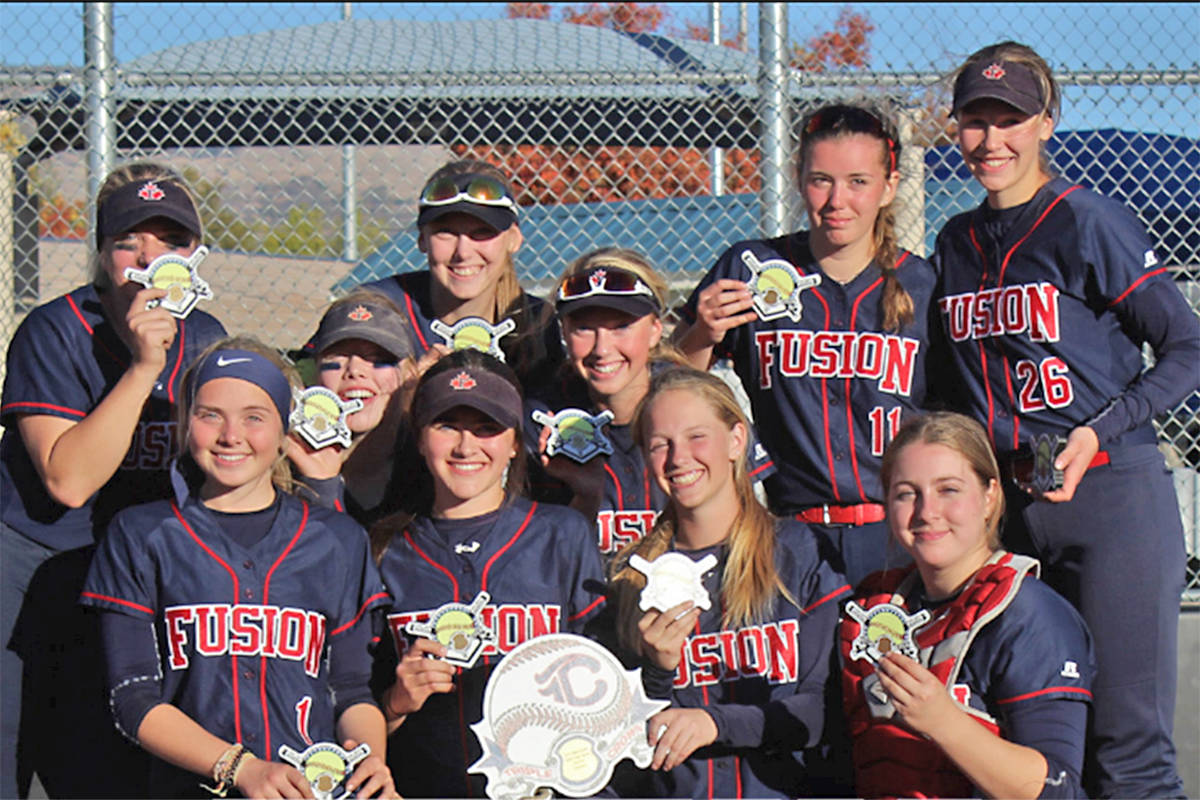 Fraser Valley Fusion 2002A went undefeated to win a major tournament in Oregon.                                 photo submitted
