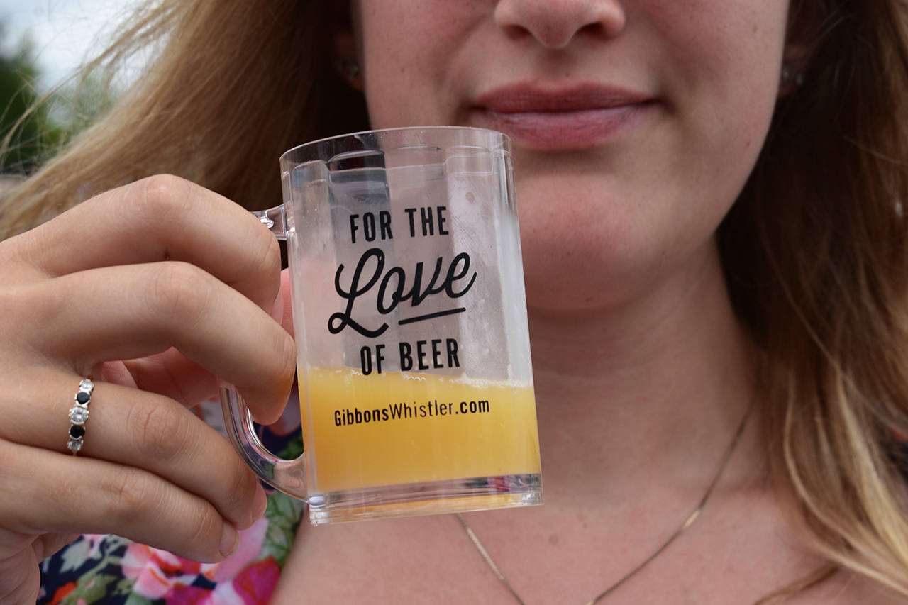The first Clover Valley Beer Festival saw 40 different brewers attend the event. (Grace Kennedy photo)