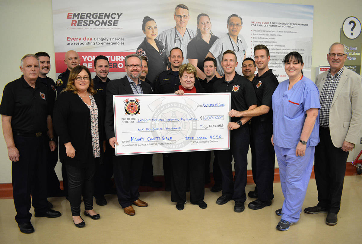 Firefighters gala raises $600,000 for hospital ER expansion