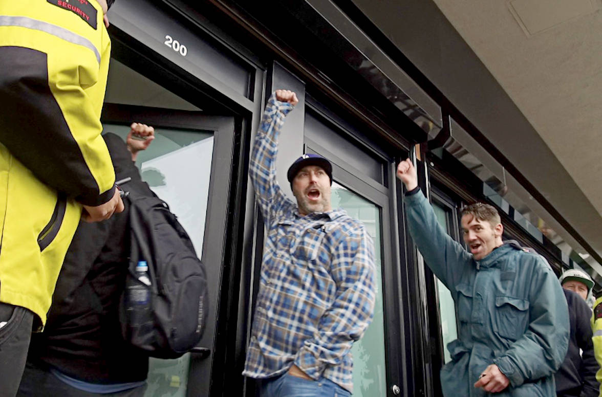 Mellow opening to B.C.'s only legal pot shop